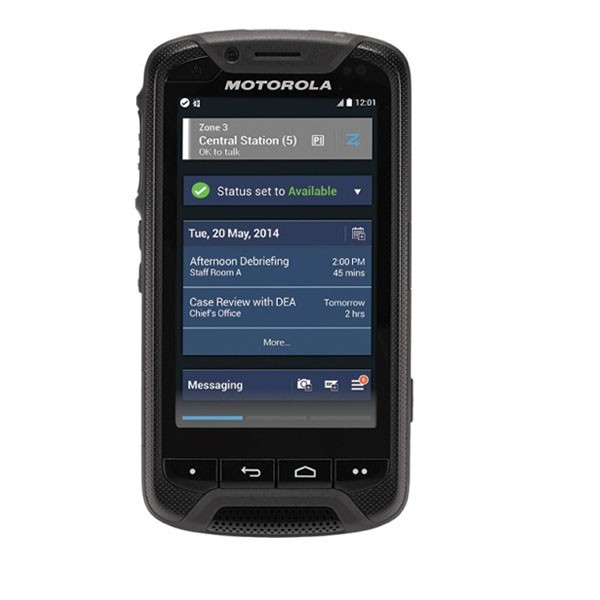 The Lex 755 Mission Critical Handheld Is Designed To Complement Motorola Radios Provide Responders With Rugged Devices That Deliver Reliable
