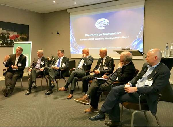 40 delegates from 18 European national PPDR network operators and several  commercial mobile network operators (MNOs) gathered in Amsterdam for a  two-day ... 17175fde49e0